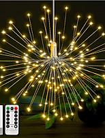 Недорогие -1 компл. 180 светодиодов diy из светодиодов фея свет шнура 8 режимов висит праздничный свет звездообразования с пультом дистанционного управления украшения открытый свет мерцания