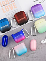 cheap -Case For AirPods Shockproof / Cool Headphone Case Hard