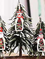 Недорогие -Деревянная кукла ангела домашнего декора лось висит рождественская елка украшения ремесла рождественский подарок