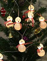 Недорогие -галстук снег искусственный светильник строка 2 м 10led хэллоуин украшения фестиваль украшения аа батареи 1 шт.
