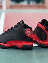 Недорогие -Мальчики Удобная обувь Полиуретан Спортивная обувь Маленькие дети (4-7 лет) Voetbal Черный Лето