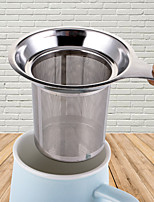 Недорогие -Многоразовая сетка для заваривания чая из нержавеющей стали ситечко для чая чайник чайный лист фильтр специй посуда