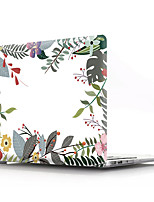 cheap -MacBook Case Flower PVC transparent for Air Pro Retina 11/12/13/15 flower transparent shell