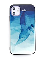 cheap -Case For Apple iPhone 11 / iPhone 11 Pro / iPhone 11 Pro Max Pattern Back Cover Animal / Cartoon TPU / Tempered Glass