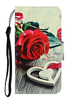 cheap -Case For Samsung Galaxy Galaxy S10 / Galaxy S10 Plus / Galaxy S10 E Wallet / Card Holder / with Stand Full Body Cases Flower PU Leather