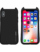 cheap -Case For APPLE iPhone 7 8 7plus 8plus XR XS XSMAX X SE 11 11Pro 11ProMax Frosted Back Cover Solid Colored Silicone