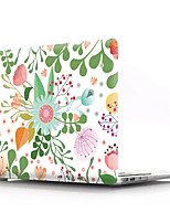 cheap -MacBook Case Flower PVC transparent for Air Pro Retina 11/12/13/15 flower transparent shell