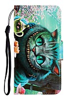 cheap -Case For Samsung Galaxy Galaxy S10 / Galaxy S10 Plus / Galaxy S10 E Wallet / Card Holder / with Stand Full Body Cases Cat PU Leather