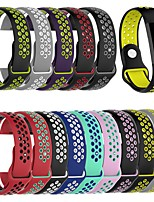 cheap -Watch Band for Fitbit Charge 4 Fitbit Sport Band Silicone Wrist Strap