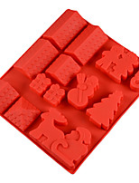 cheap -Cake Molds Christmas Silicone Cake Molds Everyday Use Diy Gingerbread House