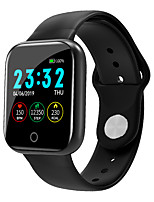 cheap -i5 Unisex Smart Wristbands Android iOS Bluetooth Touch Screen Heart Rate Monitor Blood Pressure Measurement Sports Calories Burned Pedometer Call Reminder Sleep Tracker Sedentary Reminder Find My