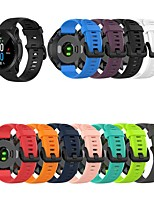 cheap -Watch Band for Fenix 5 / Forerunner 945 / Forerunner 935 Garmin Classic Buckle Silicone Wrist Strap