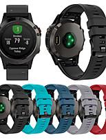 cheap -Watch Band for Fenix 5 Garmin Sport Band TPE Wrist Strap