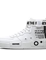abordables -Homme Chaussures de nouveauté Polyuréthane Printemps été / Automne hiver Sportif / Preppy Basket Course à Pied / Marche Chaud Noir / Noir et blanc / Kaki