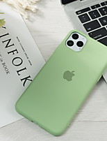 cheap -Case For Apple iPhone 11 / iPhone 11 Pro / iPhone 11 Pro Max Pattern Back Cover Playing with Apple Logo Silica Gel