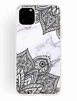 cheap -Case For Apple iPhone 11 / iPhone 11 Pro / iPhone 11 Pro Max Frosted / Pattern Back Cover Marble TPU