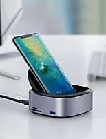 cheap -Fast Charger / Dock Charger USB Charger USB Multi-Output / QC 2.0 / Wireless Charger 3 USB Ports 3 A DC 5V for S8 Plus / S8 / Note 8