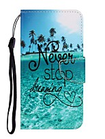 cheap -Case For Samsung Galaxy Galaxy S10 / Galaxy S10 Plus / Galaxy S10 E Wallet / Card Holder / with Stand Full Body Cases Word / Phrase PU Leather