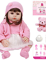 cheap -Reborn Doll Baby Girl 18 inch Full Body Silicone - Kids / Teen Kid's Girls' Toy Gift