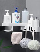 voordelige -Haken Waterbestendig / Verstelbaar / Zelfklevend Modern eigentijds / Modieus ABS + PC 1pc Tandenborstel en accessoires / Sponzen & wassers / Badkamer decoratie