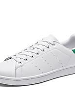 abordables -Homme Chaussures de confort Matière synthétique Printemps / Automne Sportif / Classique Basket Ne glisse pas Noir / Noir et blanc / Blanc et vert