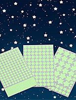 cheap -Glow in The Dark Stars Wall Stickers Glowing Stars for Ceiling and Wall Decals 3D Glowing StarsExcluding The MoonPerfect for Kids Bedding Room or Party Birthday Gift(452Pcs Green
