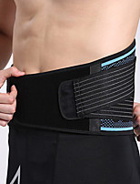 cheap -AOLIKES Lumbar Belt / Lower Back Support 1 pcs Sports Nylon Emulsion Exercise & Fitness Gym Workout Workout Durable Support Protection For Men Women