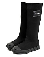 cheap -Girls' Comfort Suede Boots Big Kids(7years +) Black Winter / Mid-Calf Boots