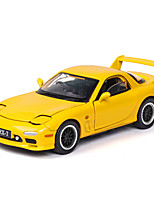 cheap -1:32 Toy Car Music Vehicles Car F1 car Race Car Glow Cute Parent-Child Interaction Zinc Alloy Rubber ABS+PC Boys' Girls' / Kids