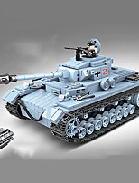 cheap -Building Blocks 716 pcs Military compatible Legoing Simulation Tank All Toy Gift / Kid's