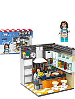 cheap -Building Blocks 352-366 pcs Architecture compatible Legoing Simulation All Toy Gift / Kid's / Kids