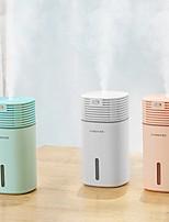 cheap -Air Humidifier Clean Air Care Air Purifier Freshener Mute Design 7 Color Lights for Home Auto Mini Car Humidifiers