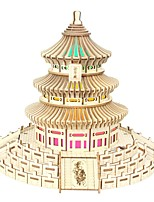 cheap -3D Puzzle Wooden Puzzle Temple of Heaven Simulation Hand-made Wooden 277 pcs Kid's Adults' All Toy Gift