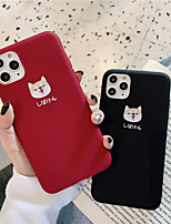 cheap -Case For Apple iPhone 11 / iPhone 11 Pro / iPhone 11 Pro Max Pattern Back Cover Animal / Cartoon TPU for iPhone X XS XR XS MAX 8 8PLUS 7 7PLUS 6 6PLUS 6S 6S PLUS