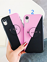 cheap -Case For Apple iPhone 11 / iPhone 11 Pro / iPhone 11 Pro Max with Stand / Pattern Back Cover Word / Phrase TPU X XS XSmax XR 6 6plus 6splus 6s 7 7plus 8 8plus