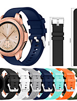 cheap -Smartwatch Band for Samsung Galaxy 42 / Active / Active2 / Gear S2 / S2 Classic / sport Band Fashion Soft comfortable Silicone Wrist Strap 20mm