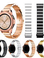cheap -Smartwatch Band for Samsung Galaxy 42 / Active / Active2 / Gear S2 / S2 Classic / sport Classic Buckle Stainless Steel Band Wrist Strap