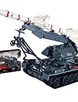 cheap -Building Blocks 1623 pcs Military compatible Legoing Simulation Military Vehicle All Toy Gift / Kid's