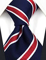 cheap -Men's Party / Work / Basic Necktie - Striped / Jacquard