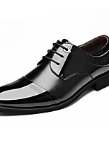 cheap -Men's Formal Shoes Leather Spring & Summer / Fall & Winter Business / Casual Oxfords Breathable Black / Brown
