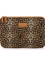 cheap -11.6 12 13.3 14.1 15.6 inch Universal Leopard print Canvas Water-resistant Shock Proof Laptop Sleeve Case Bag for Macbook/Surface/Xiaomi/HP/Dell/Samsung/Sony Etc