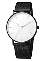 cheap -Women's Quartz Watches Fashion Black Alloy Chinese Quartz White+Black Rose Gold Gold Cool 30 m 1 pc Analog One Year Battery Life