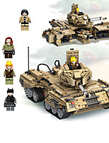 cheap -Building Blocks 1435 pcs Military compatible Legoing Simulation Tank All Toy Gift / Kid's