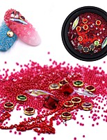 cheap -12 pcs Multi-Type / Universal Gemstone & Crystal Nail Jewelry For Finger Nail Creative Beauty Shop nail art Manicure Pedicure Daily Trendy / Colorful