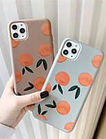 cheap -Case For Apple iPhone 11 / iPhone 11 Pro / iPhone 11 Pro Max Pattern Back Cover Food TPU for iPhone X XS XR XS MAX 8 8PLUS 7 7PLUS 6 6PLUS 6S 6S PLUS
