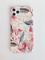 cheap -Case For Apple iPhone 11 / iPhone 11 Pro / iPhone 11 Pro Max Pattern Back Cover Flower TPU X XS XSmax XR 8 8plus 7 7plus 6 6S 6plus 6Splus