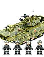 cheap -Building Blocks 1285 pcs Military compatible Legoing Simulation Tank All Toy Gift / Kid's