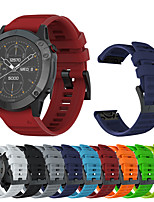 cheap -Watch Band for Fenix 6x / Fenix 6x Pro / Fenix 3 Garmin Sport Band / Classic Buckle / Modern Buckle Silicone Wrist Strap for Garmin Fenix 5X / Fenix 5X Pro