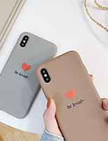 cheap -Case For Apple iPhone 11 / iPhone 11 Pro / iPhone 11 Pro Max Pattern Back Cover Heart TPU for iPhone X XS XR XS MAX 8 8PLUS 7 7PLUS 6 6PLUS 6S 6S PLUS