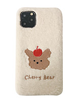 cheap -Case For Apple iPhone 11 / iPhone 11 Pro / iPhone 11 Pro Max Shockproof Back Cover Plush Textile